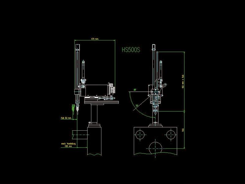 Peripherie: Schaltplan HS500S | Henn Technologie